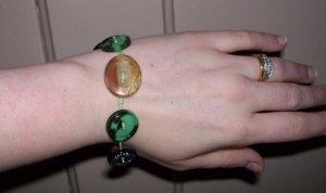 Button bracelet 1